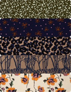 Printed-Bengaline-Suiting on sale