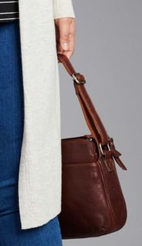 Milleni-Multi-Zip-Leather-Crossbody-Bag on sale