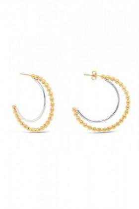 Fairfax-Roberts-Beaded-Half-Hoop-Earrings on sale