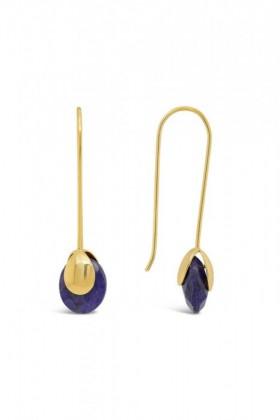 Fairfax-Roberts-Real-Gemstone-Bud-Earrings on sale
