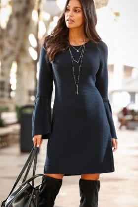 Urban-Textured-Knit-Dress on sale