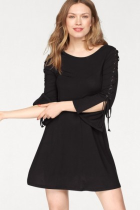 Urban-Lace-Up-Detail-Dress on sale