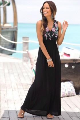 Urban-Print-Maxi-Dress on sale