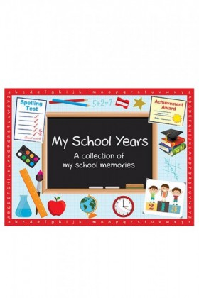 My-School-Years-Book-Softcover on sale