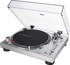 Audio-Technica-LP120XUSB-Fully-Manual-Direct-Drive-Turntable-Silver on sale