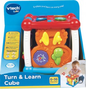 VTech-Turn-and-Learn-Cube on sale
