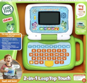 NEW-Leap-Frog-2-in-1-Leaptop-Touch-Scout on sale