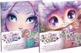 Nebulous-Stars-Watercolor-Postcard-Set-Assortment on sale
