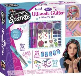 Cra-Z-Art-Shimmer-n-Sparkle-3-N-1-Ultimate-Glitter-Beauty-Set on sale