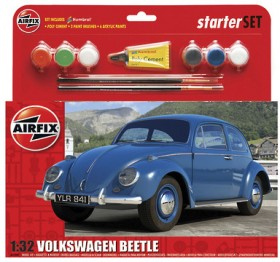 Airfix-132-MediumVW-Beetle-Starter-Set on sale