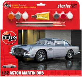 Airfix-132-Medium-Aston-Martin-DB5-Black-Starter-Set on sale