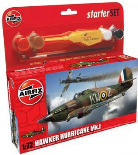 Airfix-172-Hawker-Hurricane-Mk-1-Starter-Set on sale