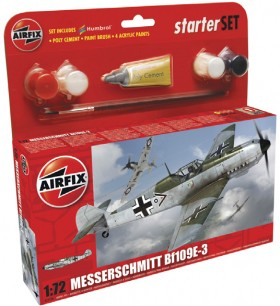 Airfix-172-Messerschmitt-B1109E-3-Starter-Set on sale
