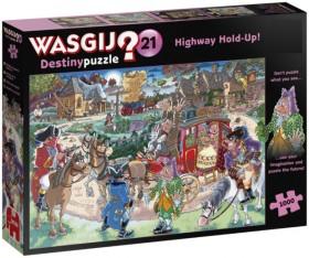 Wasgij-1000pc-Destiny-21-Highway-Holdup on sale