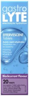Gastrolyte-Effervescent-Blackcurrent-20-Tablets on sale
