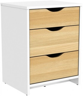 Breeze-3-Drawer-Bedside on sale