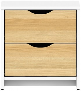 Breeze-2-Drawer-Bedside on sale