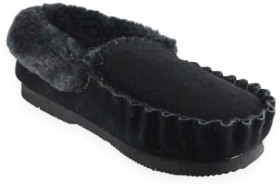 Mens-Moccasin-Slippers on sale