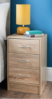 Loken-Bedside-3-Drawer on sale
