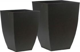 Plastic-Square-Taper-Pots on sale