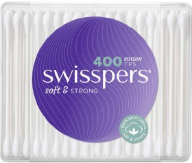Swisspers-Cotton-Tips-400-Pack on sale