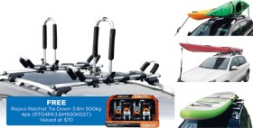 Gear-Up-4-in-1-Kayak-Stand-up-Paddle-Board-Carrier-Kit on sale