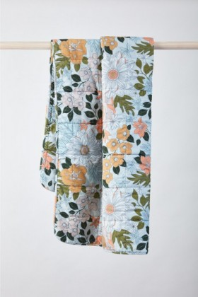 Willow-Quilted-Velvet-Throw on sale