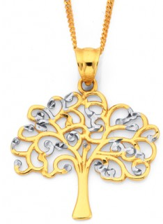 9ct-Two-Tone-Pendant on sale