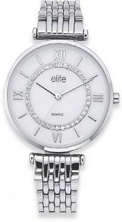 Elite-Ladies-Silver-Tone-MOP-Dial-Watch on sale