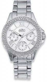 Elite-Ladies-Silver-Tone-Watch on sale