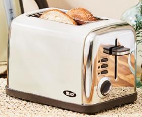 Zip-Retro-Vintage-Cream-Coloured-2-Slice-Toaster on sale