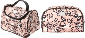 Kas-Cheetah-Vanity-Case-Carry-Wash-Bags on sale