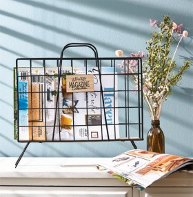 Home-Styling-Metal-Magazine-Rack on sale