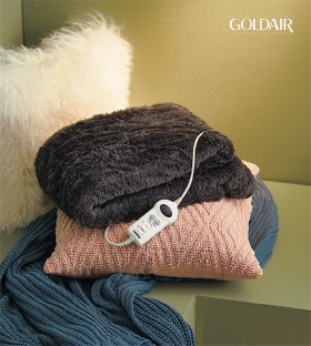 Goldair-Electric-Heated-Throw on sale