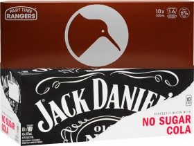 Part-Time-Rangers-Range-10-x-330ml-Cans-or-Jack-Daniels-Cola-or-No-Sugar-4.8-10-x-330375ml-Cans on sale