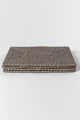 Rattan-Placemats-Set-of-Four on sale