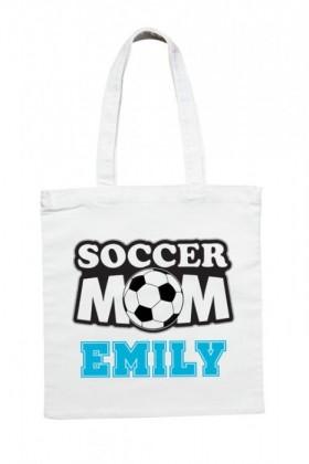 Personalised-Soccer-Mum-Tote-Bag on sale