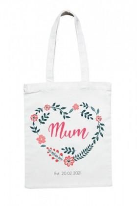 Personalised-Mum-Established-Tote on sale