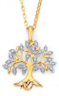 9ct-Diamond-Tree-of-Life-Pendant on sale