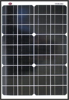 KT-Cables-12V-20W-Mono-Crystalline-Solar-Panel on sale