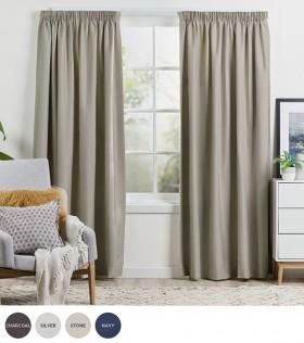 Turner-Thermal-Pencil-Pleat-Curtains on sale