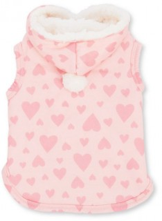 Bond-Co.-Heart-Print-Cosy-Dog-Hoodie-Pink on sale