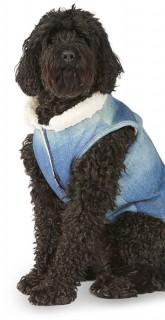 Bond-Co.-Denim-Sherpa-Dog-Jacket-Blue on sale