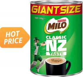 Nestl-Milo on sale