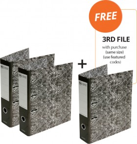 FM-Classic-Lever-Arch-File-FREE-3RD-FILE-WITH-PURCHASE on sale