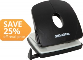 OfficeMax-2-Hole-Punch on sale