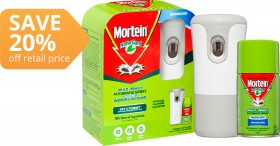 Mortein-Automatic-Indoor-Insect-Control-System on sale