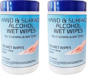 Hand-Surface-Alcohol-Wet-Wipes on sale