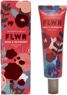The-Aromatherapy-Co.-FLWR-Hand-Cream-Rose-Dewberry on sale