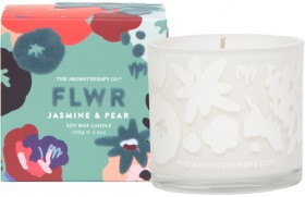 The-Aromatherapy-Co.-FLWR-Candle-Jasmine-Pear on sale